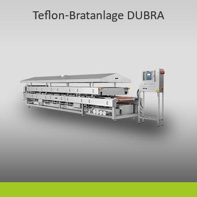 kontinuierliche Kontaktband-Bratanlage DUBRA