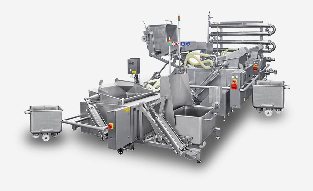 Koch-Kühl-Prozess durch Kaskadenaufstellung gestalten.