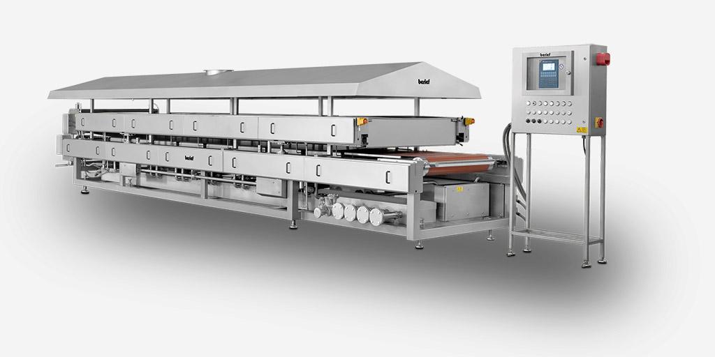 Diese Lebensmittelanlage ist in der Hackfleischverarbeitung weit vorne.
