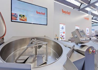 Berief-Messeimpression: Ausschnitt Messestand Foodmesse